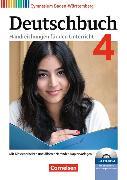 Cover-Bild zu Deutschbuch Gymnasium 4. 8. Schuljahr. Handreichungen für den Unterricht mit CD-ROM. BW von Cattaneo, Ina