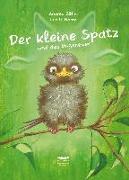 Cover-Bild zu Der kleine Spatz und das Ungeheuer von Böhm, Andrea
