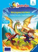 Cover-Bild zu Ninjageschichten - Leserabe ab 2. Klasse - Erstlesebuch für Kinder ab 7 Jahren von Petrowitz, Michael