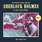 Cover-Bild zu Sherlock Holmes, Die neuen Fälle, Fall 7: Der eisige Tod (Audio Download) von Butcher, Maureen