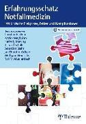 Cover-Bild zu Erfahrungsschatz Notfallmedizin (eBook) von Weber, Christian Friedrich (Hrsg.)