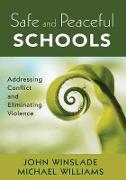Cover-Bild zu Safe and Peaceful Schools von Winslade, John M.