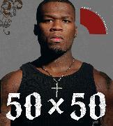 Cover-Bild zu 50 X 50 von 50 Cent