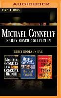 Cover-Bild zu Michael Connelly - Harry Bosch Collection (Books 3,4 & 5): The Concrete Blonde, the Last Coyote, Trunk Music von Connelly, Michael