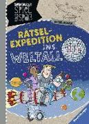 Cover-Bild zu Rätsel-Expedition ins Weltall von Richter, Martine