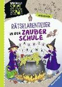 Cover-Bild zu Rätsel-Abenteuer in der Zauberschule von Richter, Martine