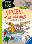 Cover-Bild zu Ferien-Rätsel-Spaß im Abenteuerland von Gollert, James