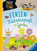 Cover-Bild zu Ferien-Rätselspaß im Garten von Richter, Martine