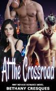 Cover-Bild zu At the Crossroad: MMF Menage Romance Novel (eBook) von Cresques, Bethany