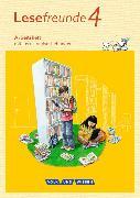 Cover-Bild zu Lesefreunde 4. Schuljahr. Neubearbeitung 2015. Arbeitsheft. östliche BL,BE von Gutzmann, Marion