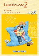 Cover-Bild zu Lesefreunde 2. Schuljahr. Neubearbeitung 2015. Arbeitsheft. östliche BL,BE von Gutzmann, Marion