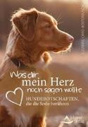 Cover-Bild zu Was dir mein Herz noch sagen wollte von Orrù-Benterbusch, Susanne