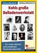 Cover-Bild zu Kohls große Balladenwerkstatt (eBook) von Wertenbroch, Wolfgang