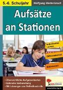 Cover-Bild zu Aufsätze an Stationen 5/6 (eBook) von Wertenbroch, Wolfgang