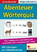 Cover-Bild zu Abenteuer Wörterquiz (eBook) von Wertenbroch, Wolfgang