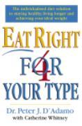 Cover-Bild zu Eat Right 4 Your Type (eBook) von D'Adamo, Peter
