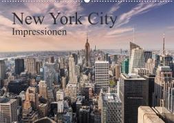 Cover-Bild zu New York City Impressionen (Wandkalender 2022 DIN A2 quer) von Aatz, Markus