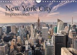 Cover-Bild zu New York City Impressionen (Wandkalender 2022 DIN A4 quer) von Aatz, Markus