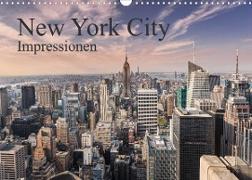 Cover-Bild zu New York City Impressionen (Wandkalender 2022 DIN A3 quer) von Aatz, Markus