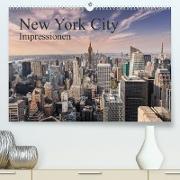 Cover-Bild zu New York City Impressionen (Premium, hochwertiger DIN A2 Wandkalender 2022, Kunstdruck in Hochglanz) von Aatz, Markus