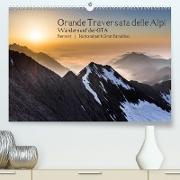 Cover-Bild zu Grande Traversata delle Alpi - Wandern auf der GTA (Premium, hochwertiger DIN A2 Wandkalender 2022, Kunstdruck in Hochglanz) von Aatz, Markus