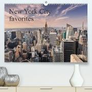 Cover-Bild zu New York City favorites / UK-Version (Premium, hochwertiger DIN A2 Wandkalender 2022, Kunstdruck in Hochglanz) von Aatz, Markus