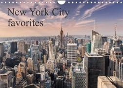Cover-Bild zu New York City favorites / UK-Version (Wall Calendar 2022 DIN A4 Landscape) von Aatz, Markus