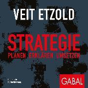Cover-Bild zu Strategie (Audio Download) von Etzold, Veit