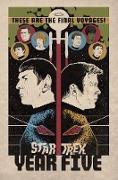 Cover-Bild zu Lanzing, Jackson: Star Trek: Year Five - Odyssey's End (Book 1)