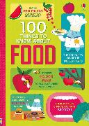 Cover-Bild zu Baer, Sam: 100 Things to Know About Food
