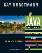 Cover-Bild zu Horstmann, Cay S.: Java For Everyone