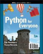 Cover-Bild zu Necaise, Rance D.: Python for Everyone