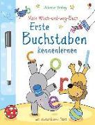 Cover-Bild zu Mein Wisch-und-weg-Buch. Erste Buchstaben kennenlernen