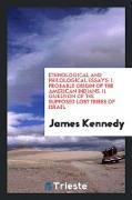 Cover-Bild zu Kennedy, James: Ethnological and Philological Essays