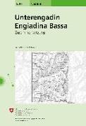 Cover-Bild zu Unterengadin, Engiadina Bassa. 1:50'000