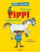 Cover-Bild zu Lindgren, Astrid: Kennst du Pippi Langstrumpf?