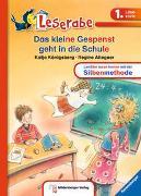 Cover-Bild zu Königsberg, Katja: Das kleine Gespenst geht in die Schule - Leserabe 1. Klasse - Erstlesebuch für Kinder ab 6 Jahren