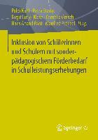Cover-Bild zu Inklusion von Schülerinnen und Schülern mit sonderpädagogischem Förderbedarf in Schulleistungserhebungen von Kuhl, Poldi (Hrsg.)