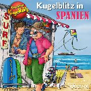 Cover-Bild zu Scheffler, Ursel: Kommissar Kugelblitz - Kugelblitz in Spanien (Audio Download)