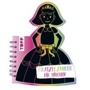 Cover-Bild zu frechverlag: Kratzelzauber Für Mädchen (Kratzelbuch in Prinzesinnenform)