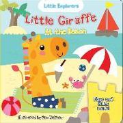 Cover-Bild zu Ackland, Nick: Little Giraffe at the Beach