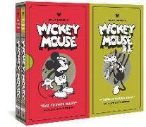 Cover-Bild zu Floyd Gottfredson: WALT DISNEY'S MICKEY MOUSE VOL 1 &2 BOX SET