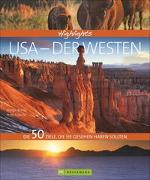Cover-Bild zu Brinke, Margit: Highlights USA - Der Westen