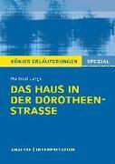 Cover-Bild zu Lange, Hartmut: Das Haus in der Dorotheenstraße von Hartmut Lange
