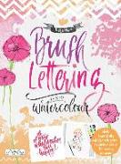 Cover-Bild zu Haas, Katja: Brush Lettering and Watercolour