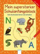 Cover-Bild zu Krapp, Christiane: Erste Buchstaben lernen und schreiben