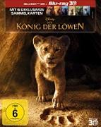 Cover-Bild zu Favreau, Jon (Reg.): Der König der Löwen (LA) - 3D + 2D + 6 Karten (2 Discs)