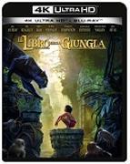 Cover-Bild zu Favreau, Jon (Reg.): The Jungle Book (LA) - 4K+ 2D BD