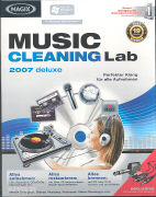 Cover-Bild zu Magix Music Cleaning Lab 2007 Deluxe