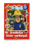 Cover-Bild zu Hoffart, Nicole (Chefred.): Feuerwehrmann Sam: Brandheißer Sticker- und Malspaß